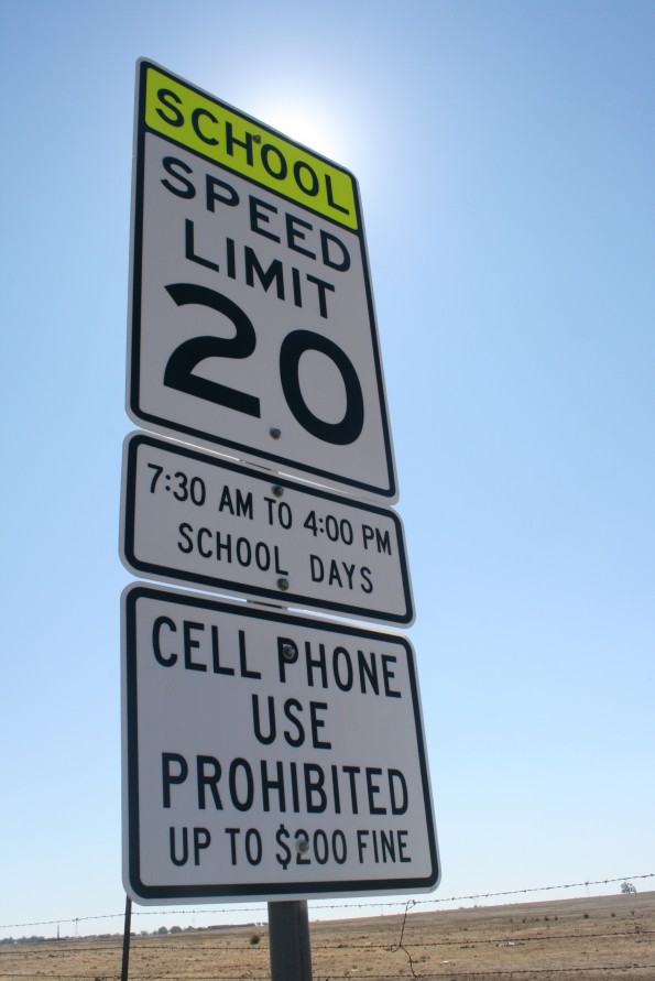 New fines for phone use in school zones unnecessary