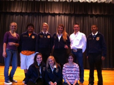 FFA members compete in leadership events
