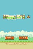 Flappy bird fly for the last time