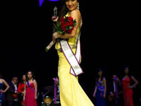 Sophomore wins pageant title